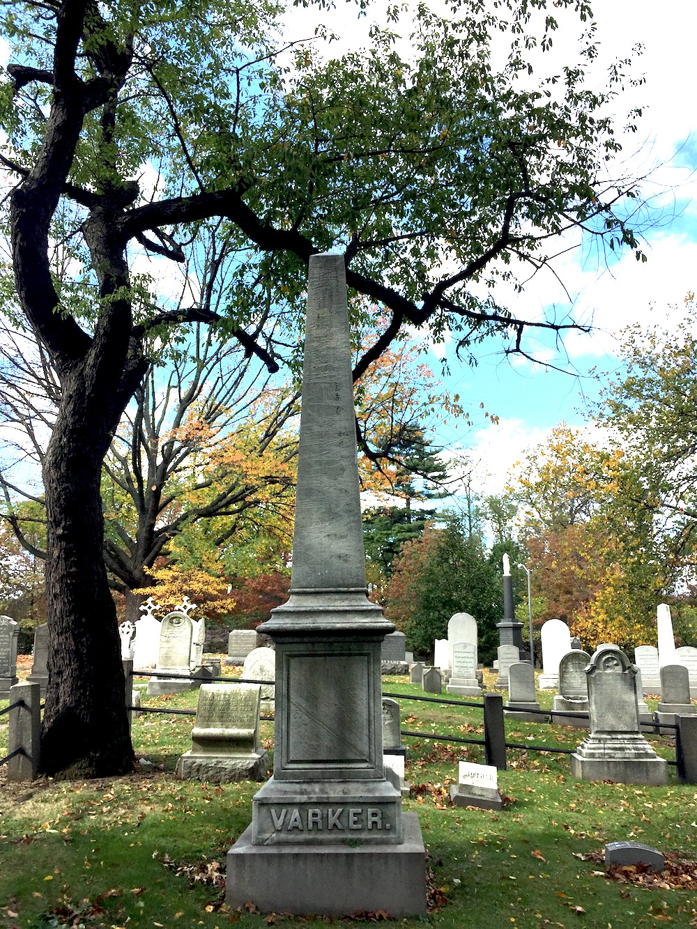 Trinity Cemetery and Mausoleum, NYC | Photo credit: Rose Spaziani