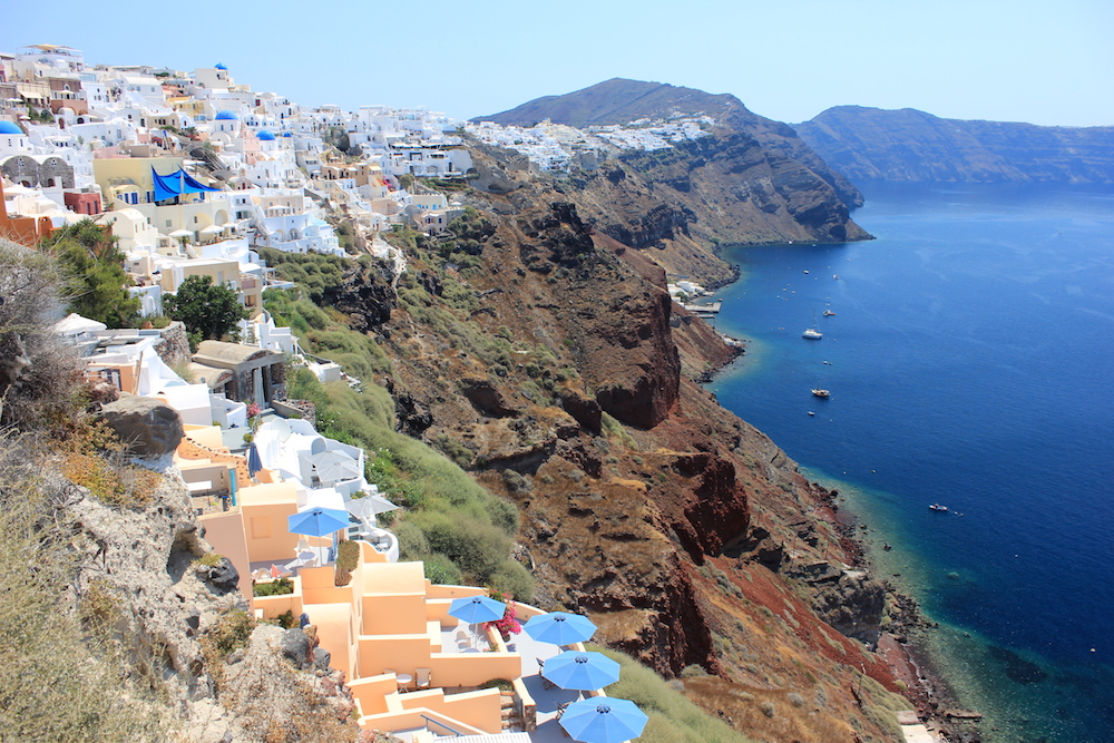 Santorini, Greece | Photo credit: Rose Spaziani