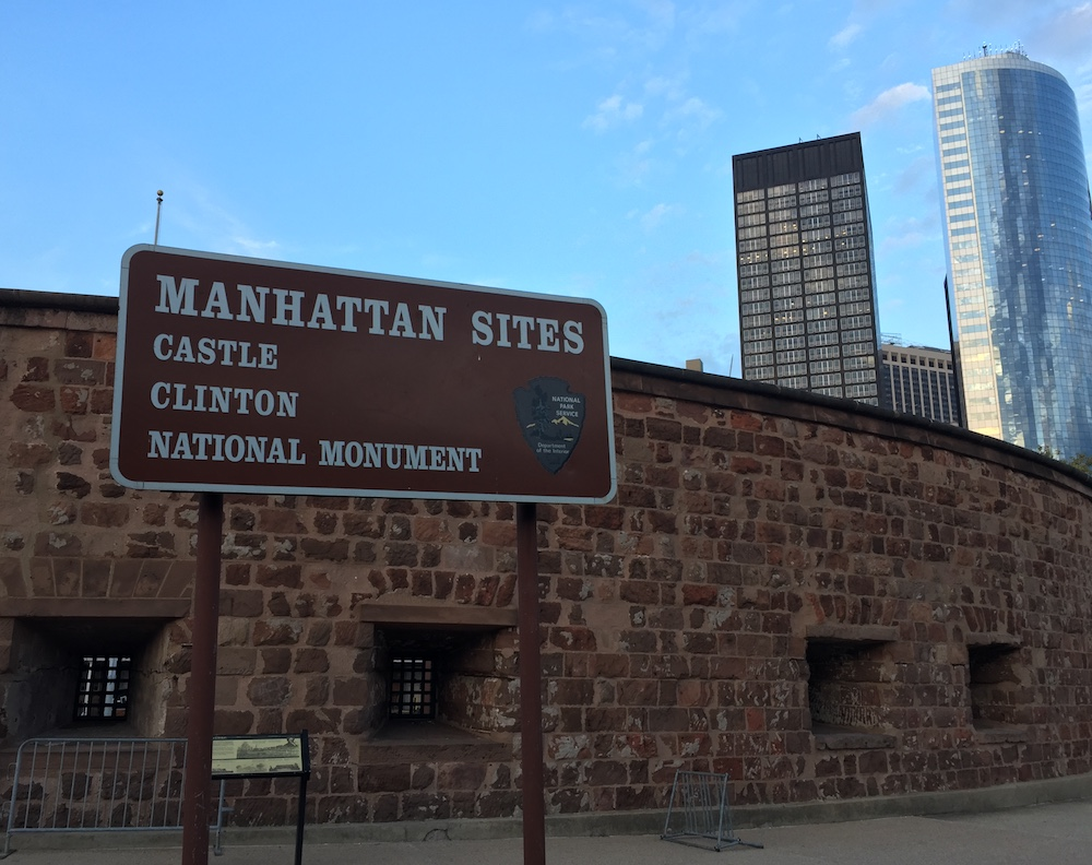 Castle Clinton in NYC | Photo credit: Rose Spaziani