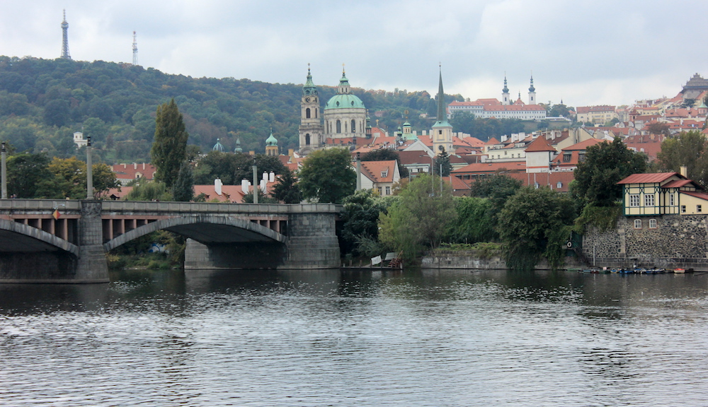 Vltava River in Prague, Czech Republic | Photo credit: Rose Spaziani