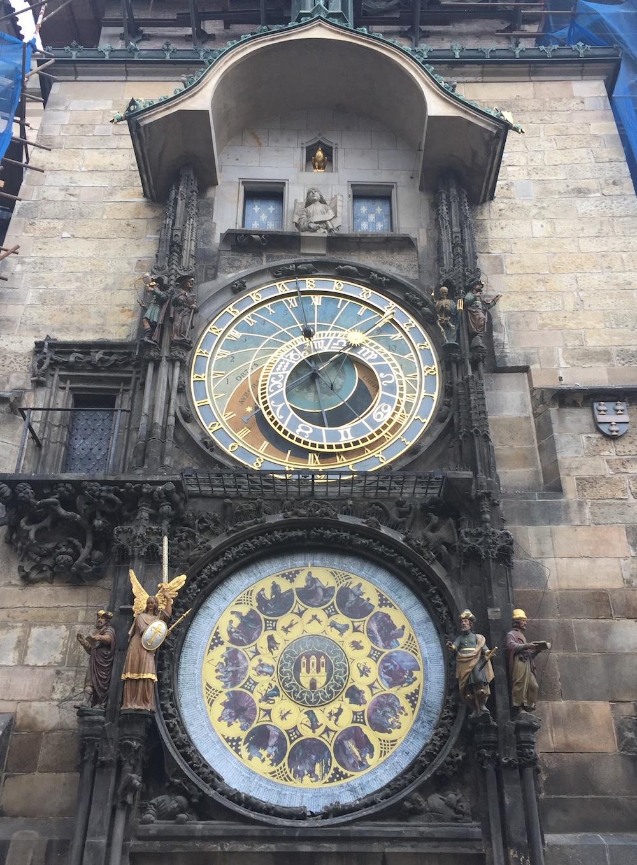 Astronomical Clock in Prague | Photo credit: Rose Spaziani