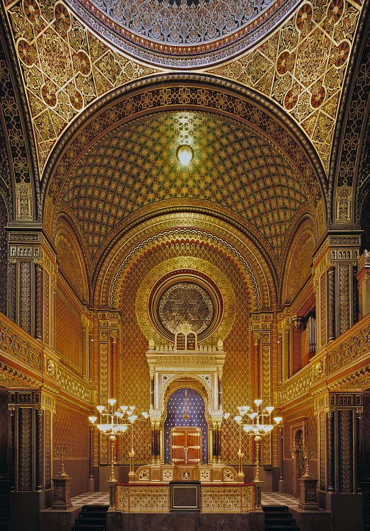 Spanish Synagogue in Prague | Copyright:Jewish Museum in Prague