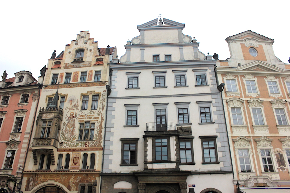 Old Town architecture in Prague | Photo credit: Rose Spaziani
