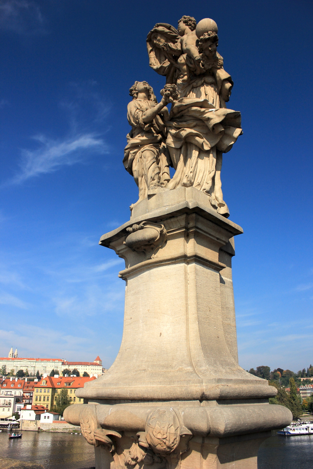 Statue on Charles Bridge in Prague | Photo credit: Rose Spaziani