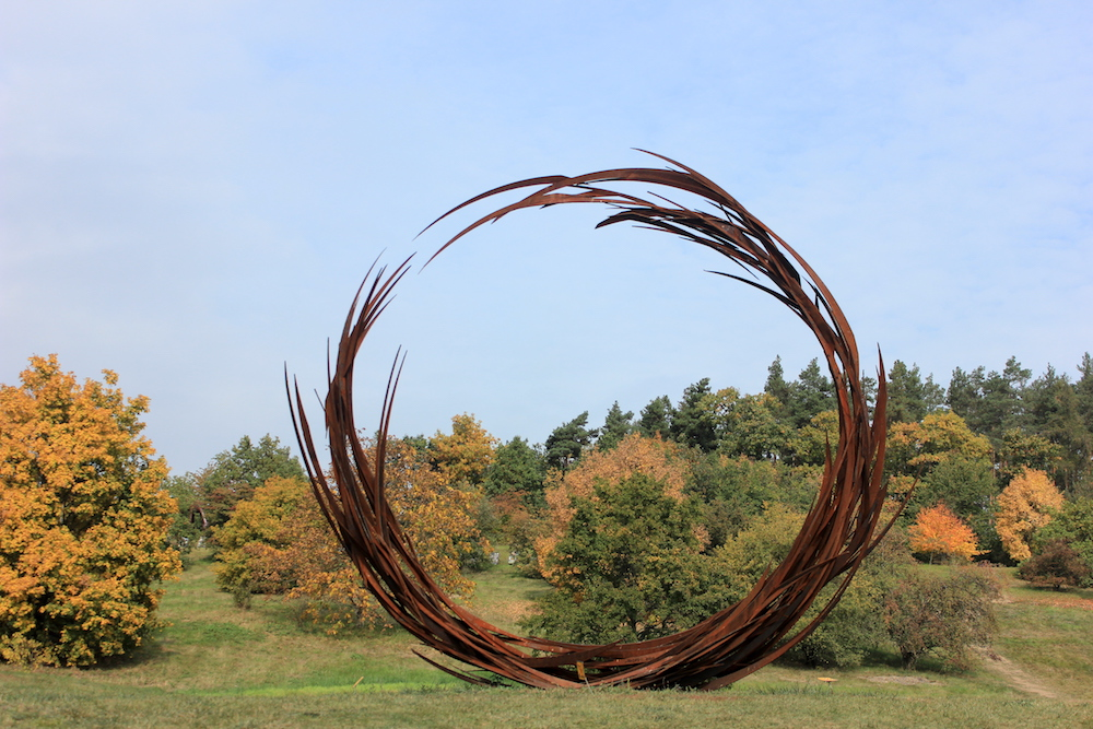 """Rounded"" by Jan Dostal at Prague Botanical Garden 