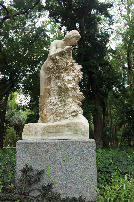 Sculpture,Carlos Thays Botanical Garden | Photo credit: Rose Spaziani