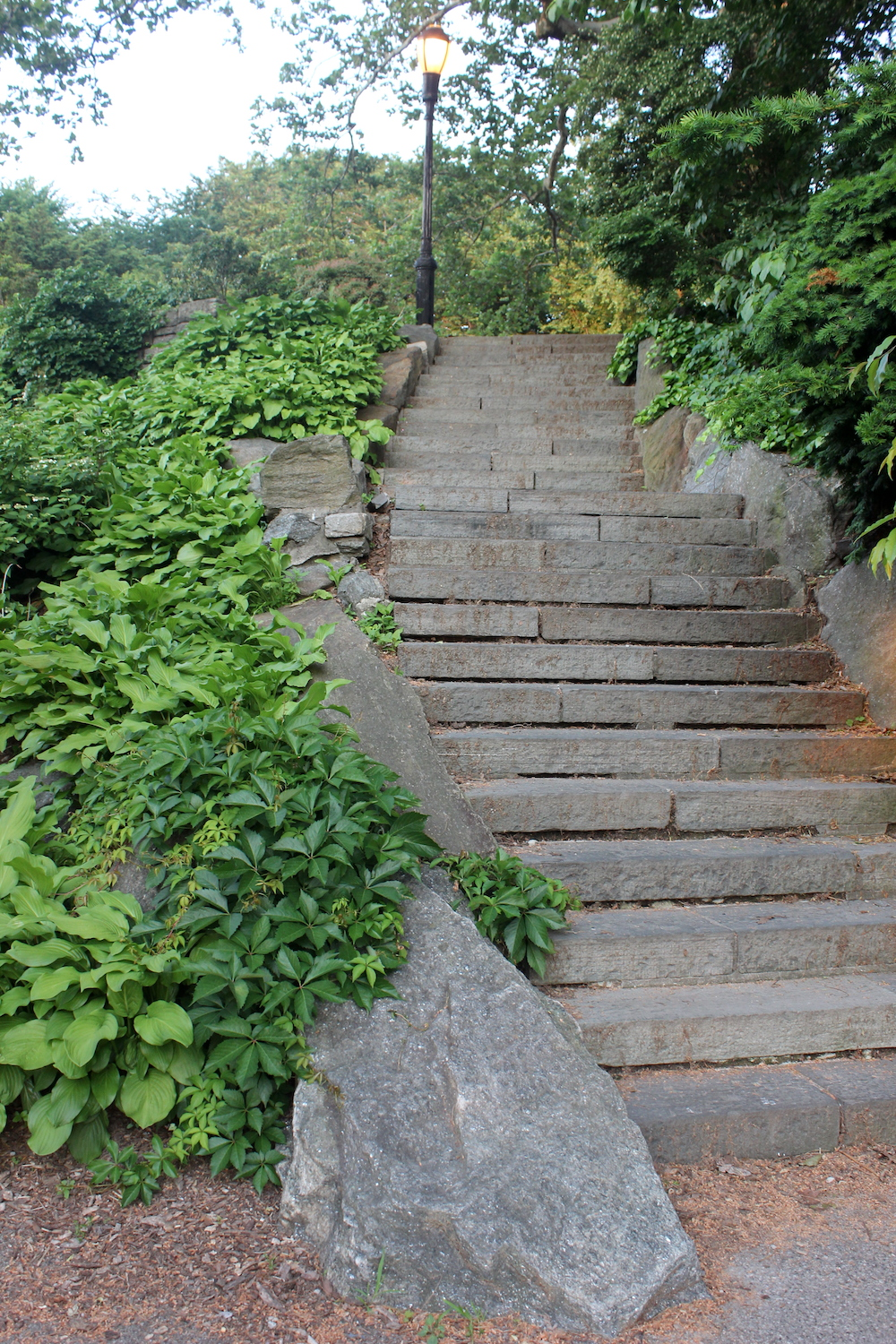 Steps in Fort Tryon Park, NYC | Photo credit: Rose Spaziani