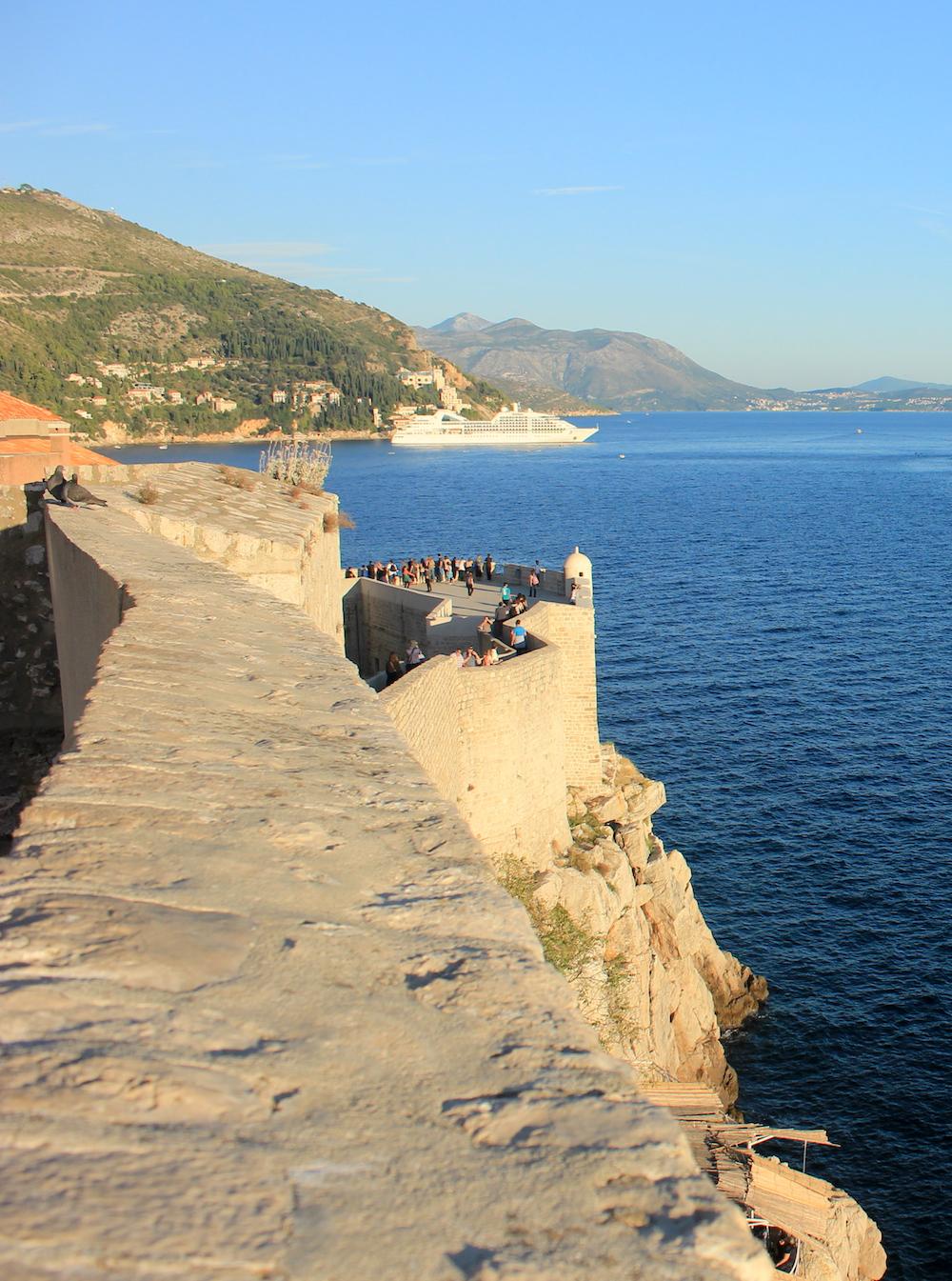 City walls of Dubrovnik, Croatia | Photo credit: Rose Spaziani