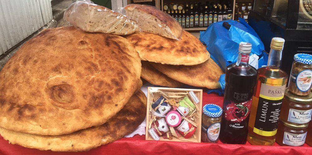 Green market goodies in Split, Croatia | Photo credit: Rose Spaziani