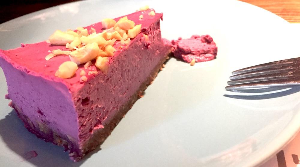 Berry tart at Marta's Veggie Fusion in Split, Croatia | Photo credit: Rose Spaziani