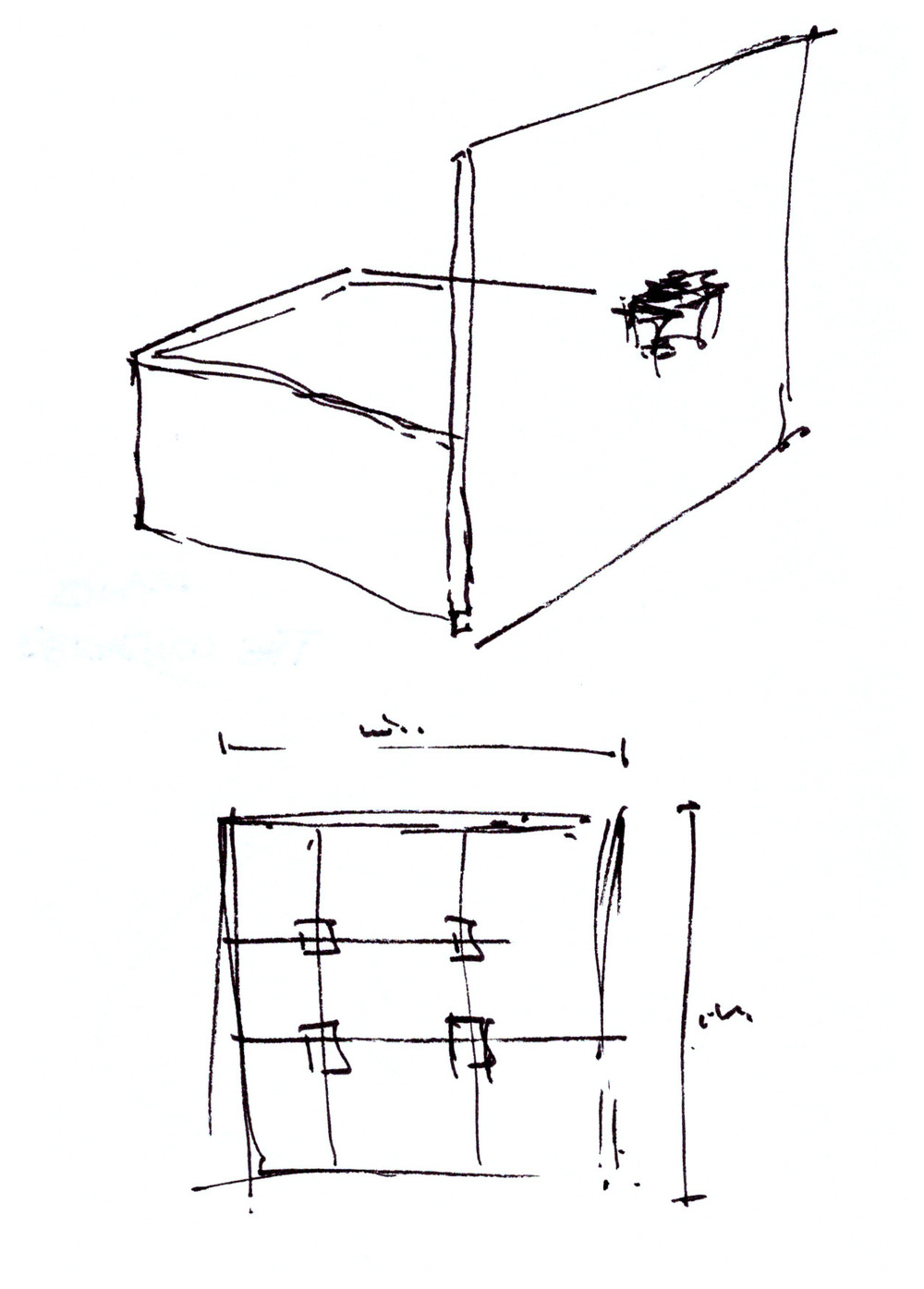 Solo Cube_Tray/Body Proportions