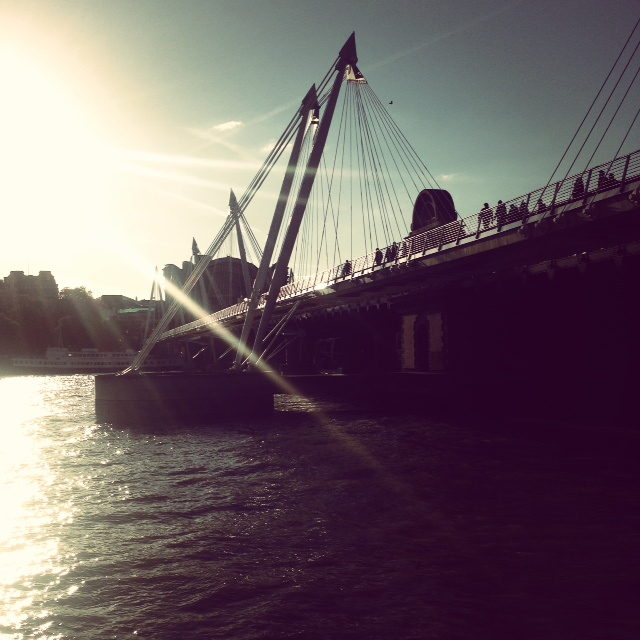 Sunset at the southbank