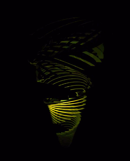 Franck Tawema_Lightbrush_Green
