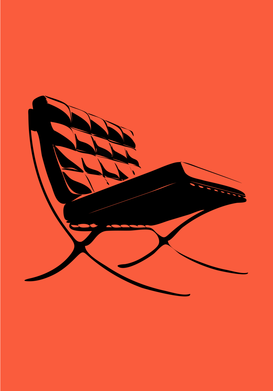 barcelona chair -