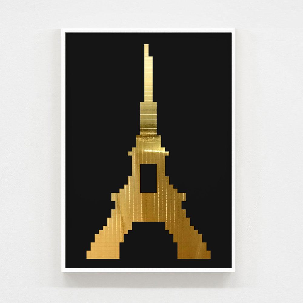 eiffel tower - A2 size : 42cm x 59.4cmSigned and numbered with certificate of authentification.PRICE: £500