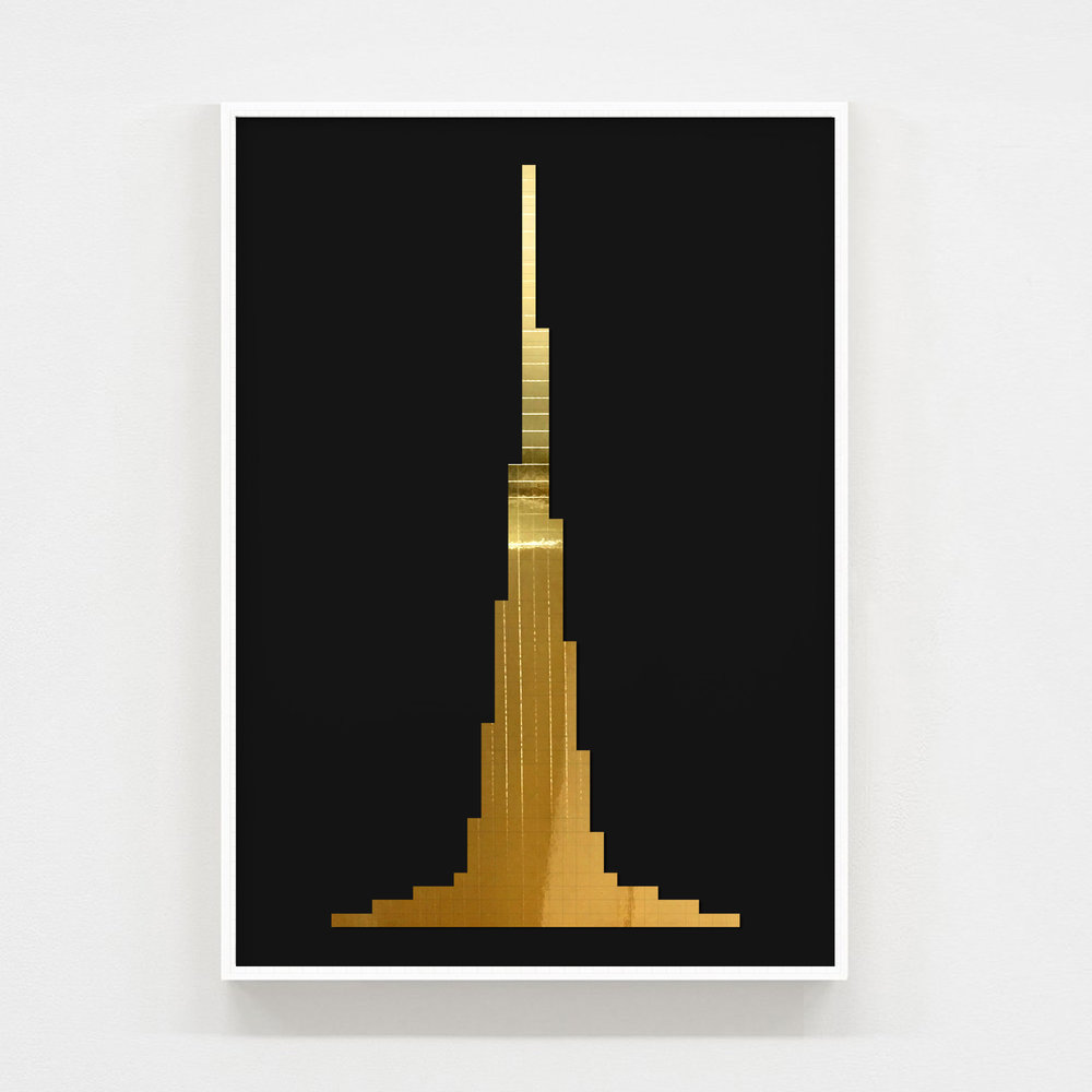 burj - A2 size : 42cm x 59.4cmSigned and numbered with certificate of authentification.PRICE: £500