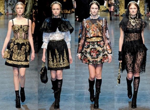 Dolce & Gabbana. Fall 2012.