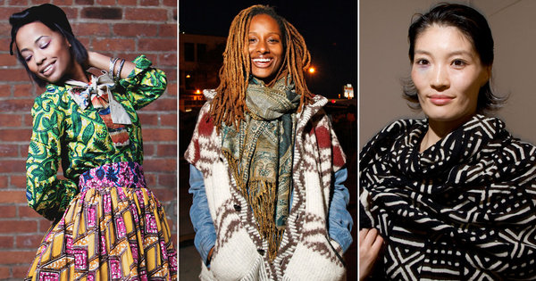 photo credit: THE NEW YORK TIMES - SEND YOUR STREET STYLE PHOTOS: TRIBAL PRINTS