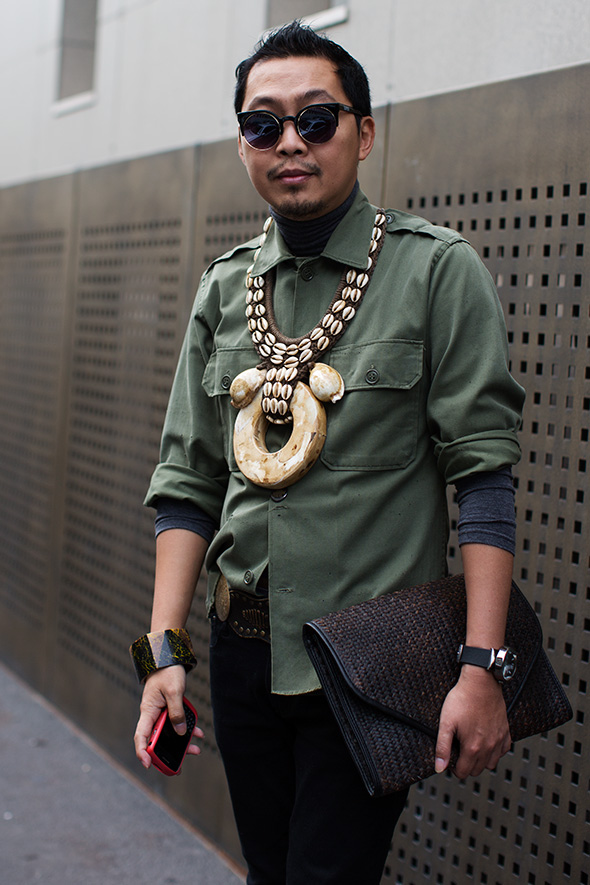 photo credit: THE SARTORIALIST - ON THE STREET…MEN'S ACCESSORIES, MILAN