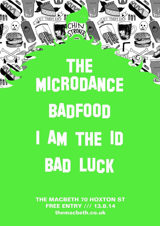 Loops, Loops, Loops Loops, Riffs, Noise, Explosions! Who will make it out of the Crystal Prism and break the vicious cycle?? An Audio + Visual feast with... THE MICRODANCE https://www.facebook.com/TheMicrodance BADFOOD https://www.facebook.com/BADFOOD I AM THE ID https://soundcloud.com/i-am-the-id BAD LUCK - Justin Houghton www.loopsloopsloopsloopsloops.lo.ops FREE ENTRY