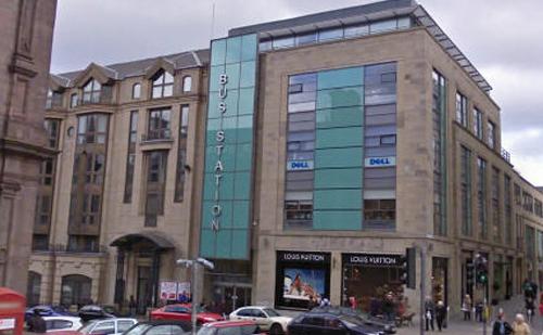 Edinburgh Bus Station