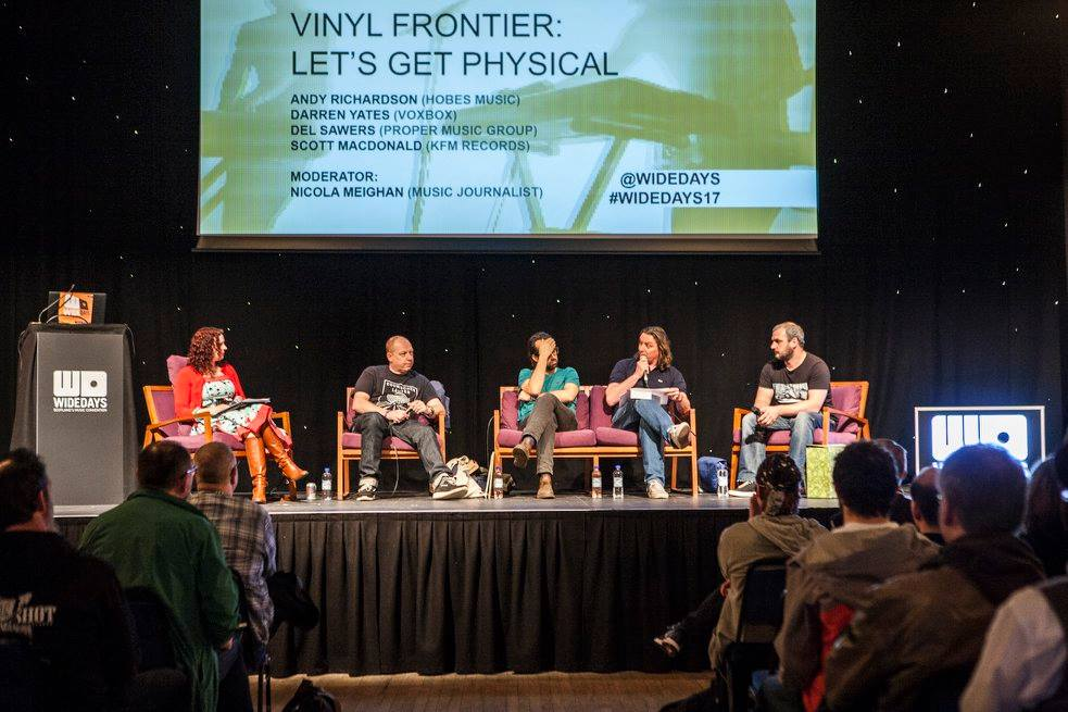 The Vinyl Frontier - Vinyl revival panel JPG