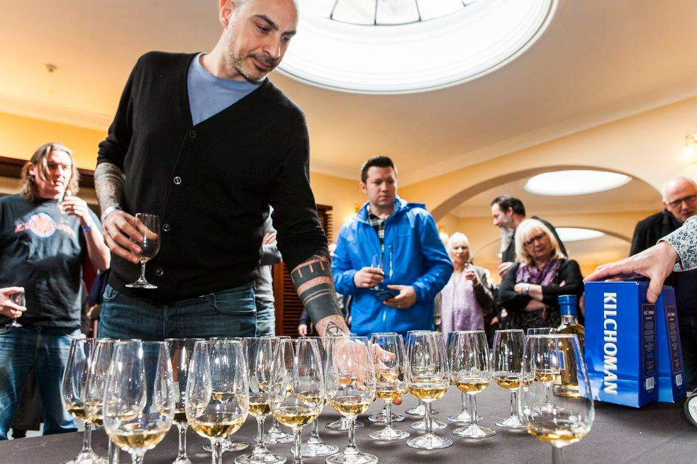 Whisky Tasting at The Usher Hall with Baris Basaran JPG