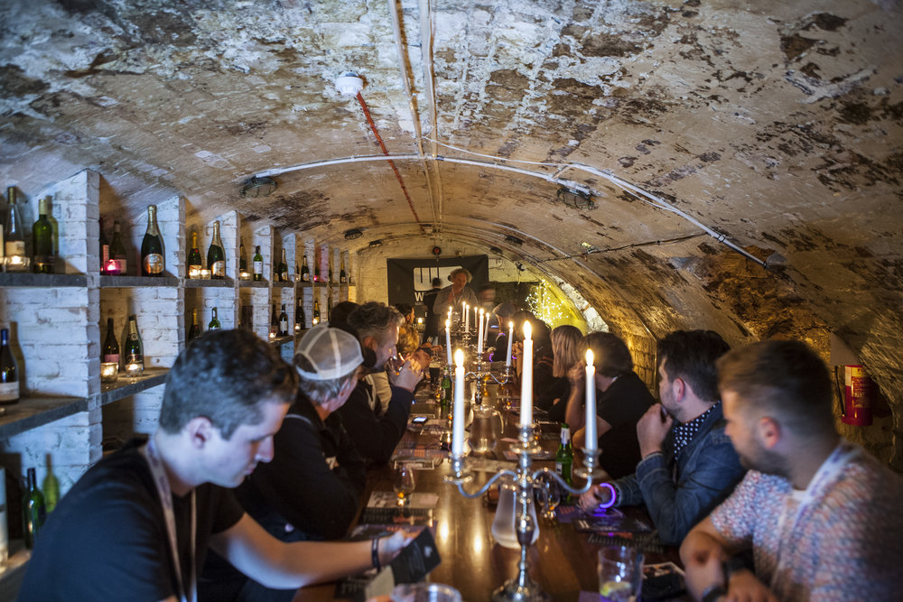 Whisky Tasting in the Old Ship Hotel Smugglers' Cellar JPG