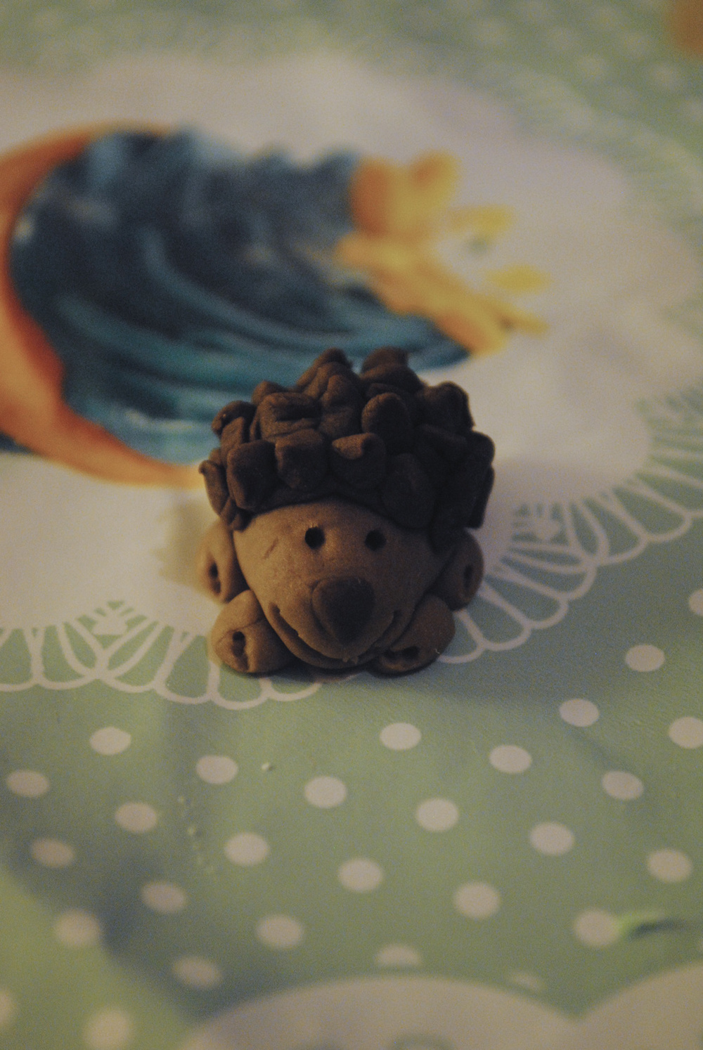 A happy halficing hedgehog