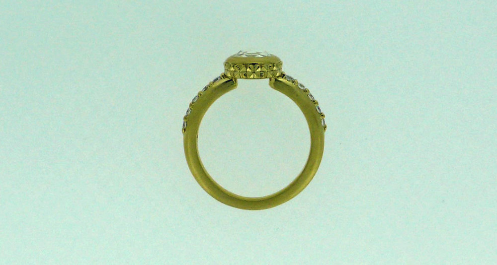 """Naomi"" Ring (side view)"