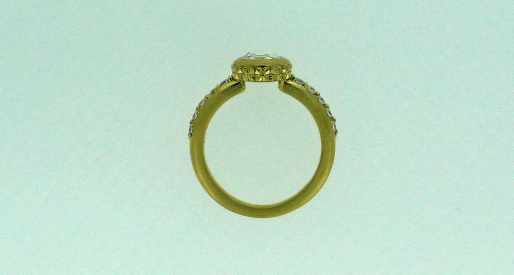 """Naomi"" Ring (side view)"