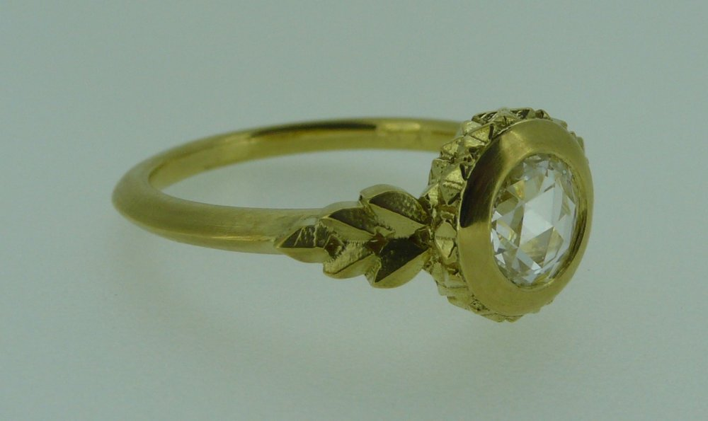 """""""Savoy"""" ring"""