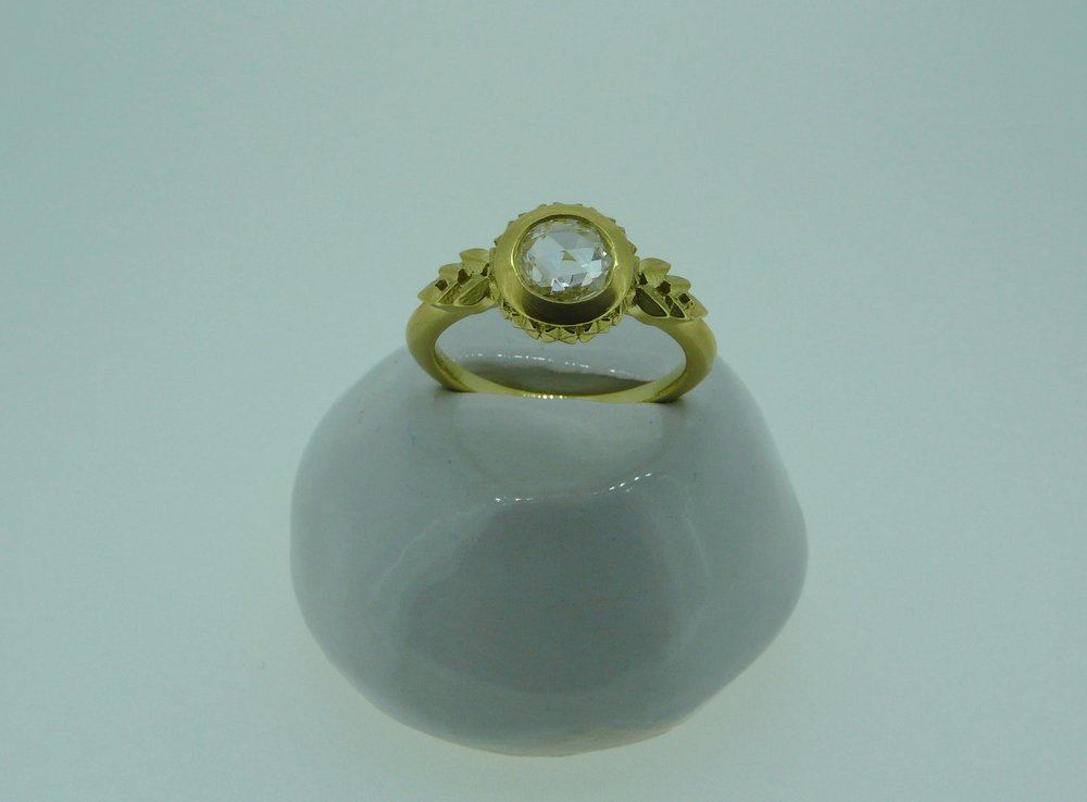"""Savoy"" ring"