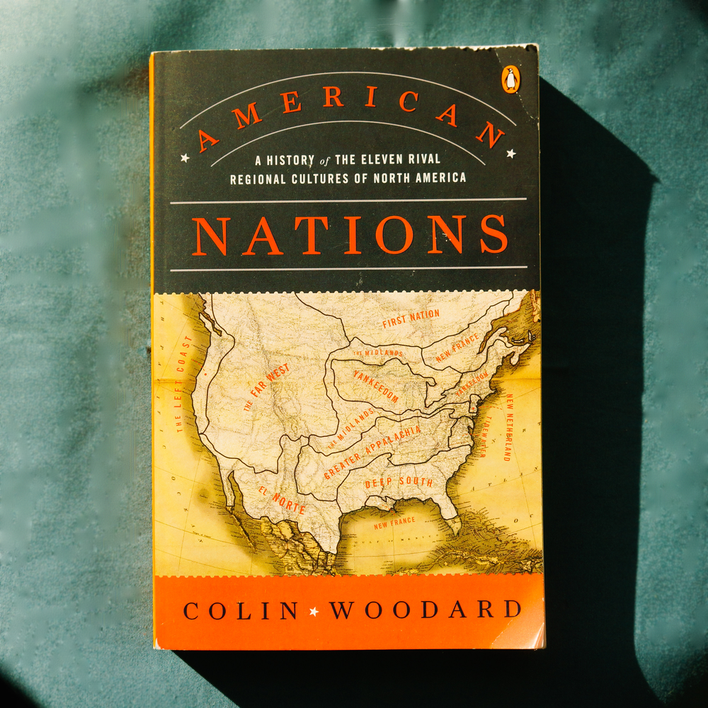 According to award-winning journalist and historian Colin Woodard, North America is made up of eleven distinct nations, each with its own unique historical roots. In  American Nations  he takes readers on a journey through the history of our fractured continent, offering a revolutionary and revelatory take on American identity, and how the conflicts between them have shaped our past and continue to mold our future. From the Deep South to the Far West, to Yankeedom to El Norte, Woodard (author of  American Character: A History of the Epic Struggle Between Individual Liberty and the Common Good ) reveals how each region continues to uphold its distinguishing ideals and identities today, with results that can be seen in the composition of the U.S. Congress or on the county-by-county election maps of this year's Trump versus Clinton presidential election.     Get it    Here