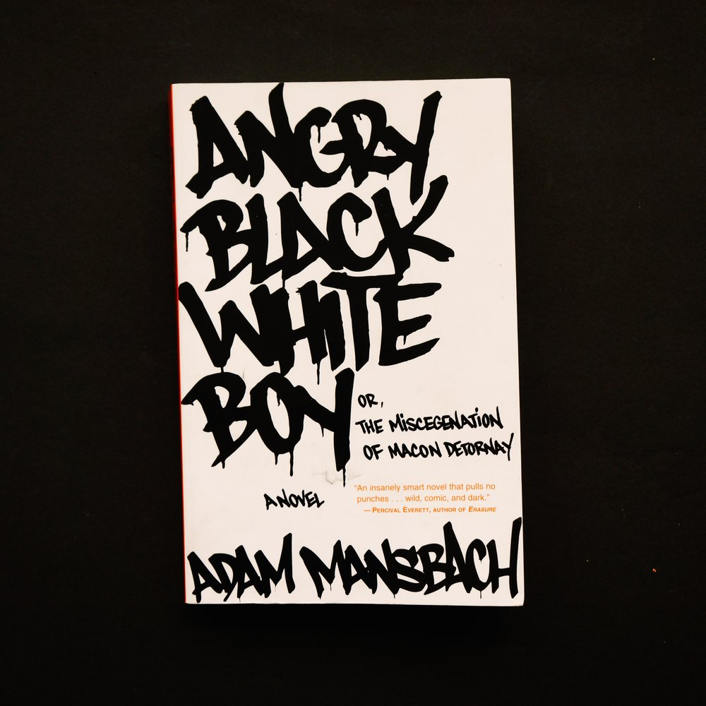 Angry Black White Boy