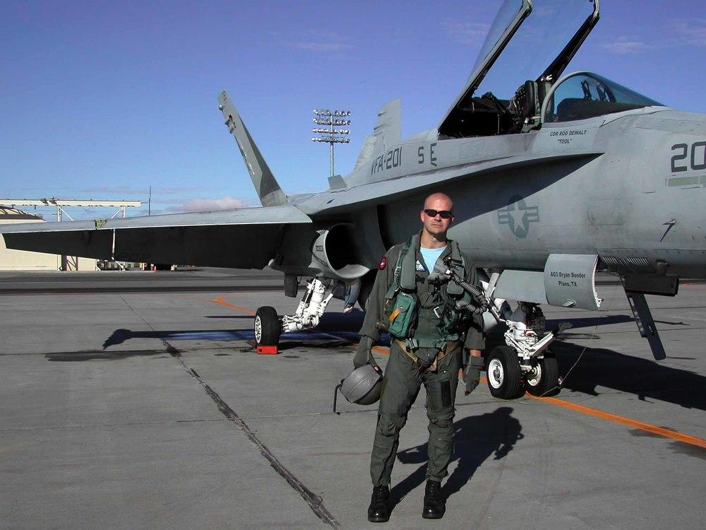 Hal Schmitt Fighter Pilot