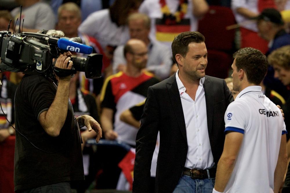 Tobias Kamke im Interview nach der 1:0 Führung für Deutschland