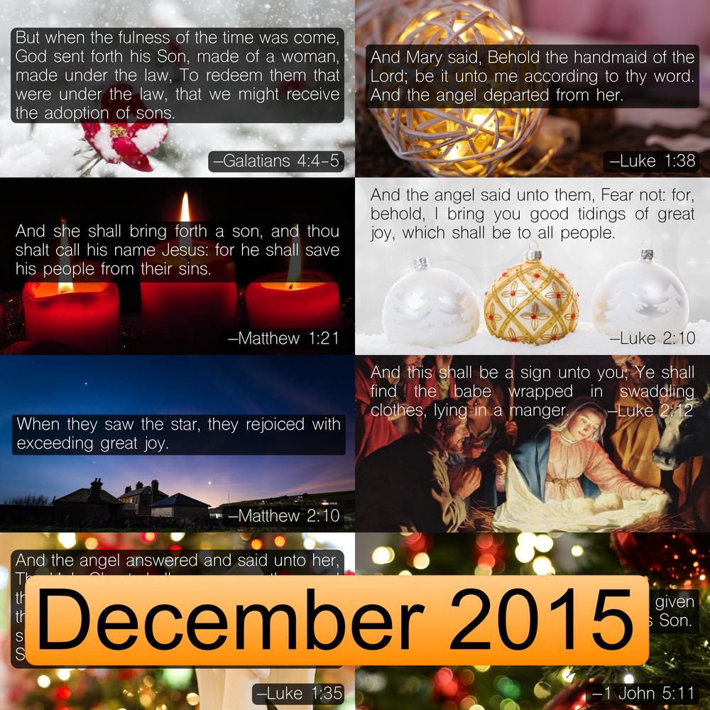 December 2015 Image Pack