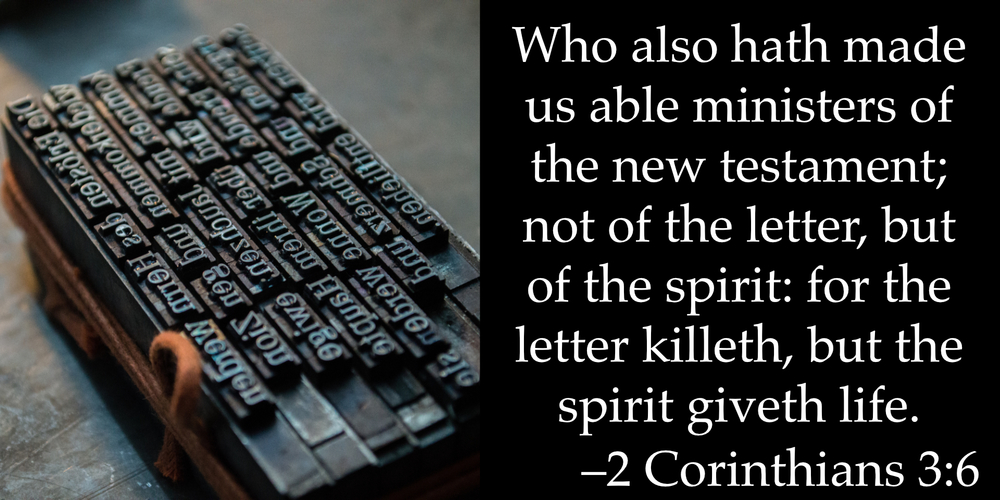 The Letter Killeth | Heleenvandenhombergh