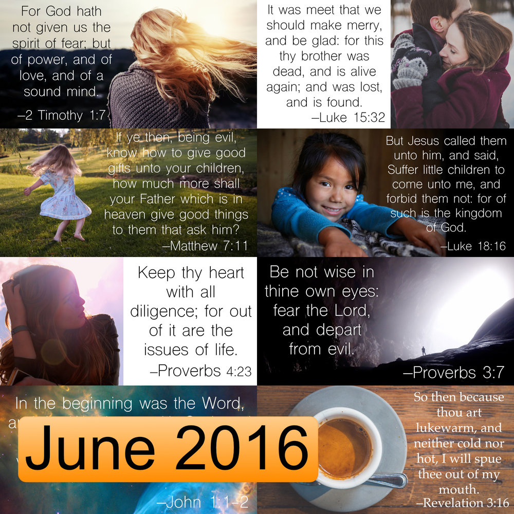 June 2016 Image Pack