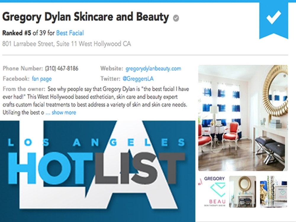 Los Angeles HotList: Best Facial
