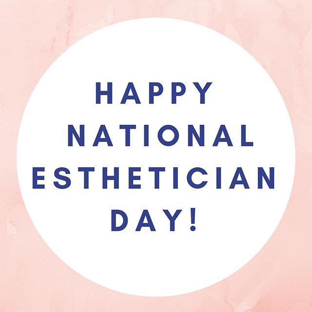 "Have you hugged your Esty today?! 🤗😘 Happy National Esthetician Day to all of the ""skin whisperers"" out there!! Here's to an amazing career we love and all of the fabulous, fresh and healthy skin we create! 🙌🏼💆🏼‍♂️🎂🍾 #skin #skincare #skinfluencer #esty #like #follow #beautyexpert #esthetician #instagood #instalike #beauty"