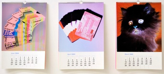 Eileen Maxson     Clearance, 1993   ,    2010     Inkjet print calendars   13 x 19 in    $365 each