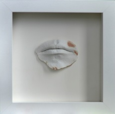 Malgorzata Szandala   Antigones Claim Defiant Speech,  2012 Plaster and Blood 16 x 16 in $500