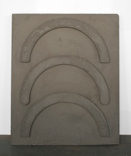 Christopher Roberson   Triple Frown,  2012 Reinforced Concrete 30 x 36 in $ 2,200