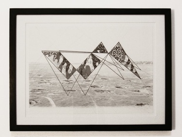 Eric LoPresti   Drawing for Forced Collaboration,  2012 Graphite on paper 10 x 14 inches $ 900