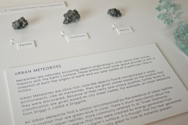 Studio AND (Audra Wolowiec and Niels Cosman)     Urban Meteorites  Detail