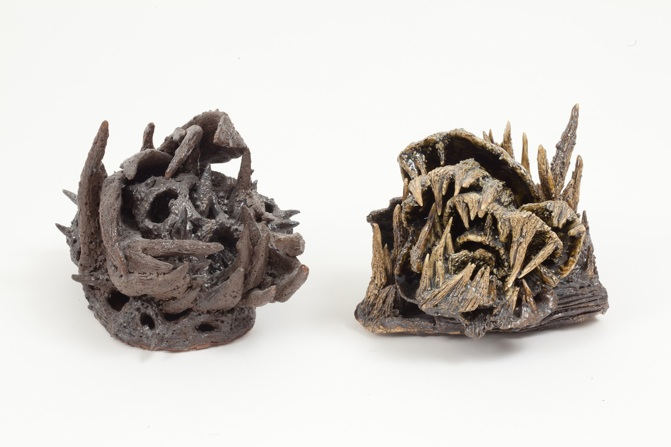 Heidi Lou   Teeth 1,  2011 Ceramics 6 x 8 x 6 inches $800 each