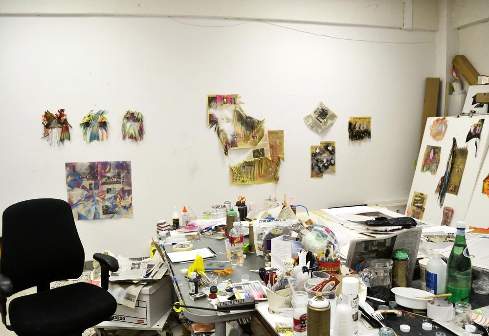Elissa Levy's Studio 2014