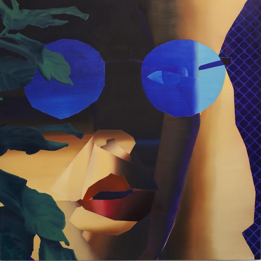 Jonathan Chapline:  Gradient Mesh Based Vector Portrait  , 2014